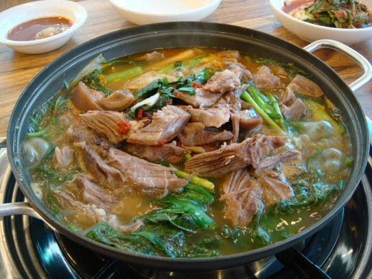 補身湯 韓国料理