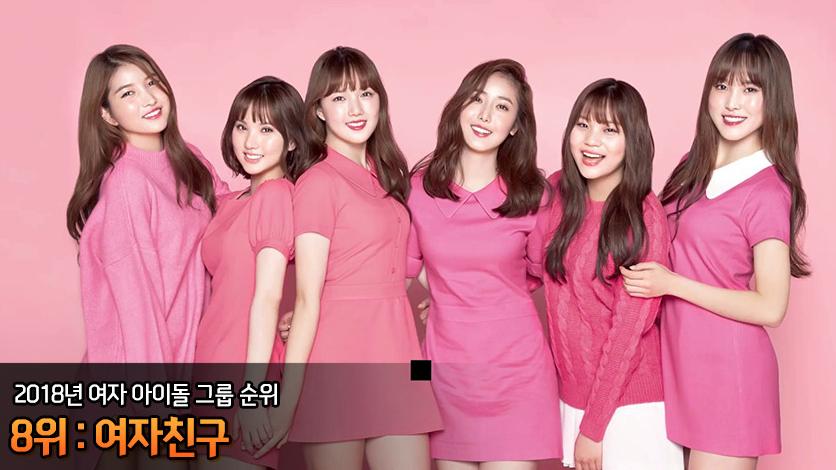 【2018年2月最新版】「K-POP」男女人気グループランキング GFRIEND